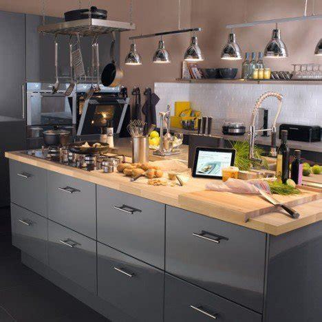 delinia cuisine meuble de cuisine gris delinia leroy merlin