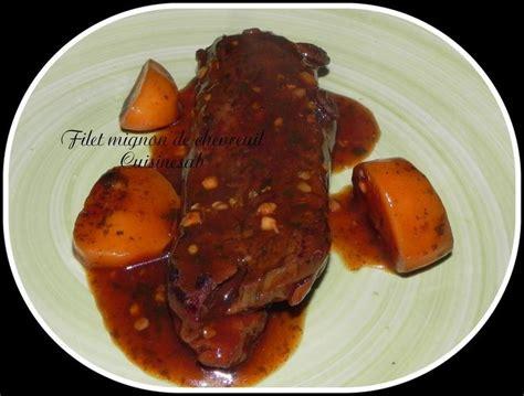 cuisiner le chevreuil sans marinade les 25 meilleures idées concernant filet de chevreuil sur marinade de venaison