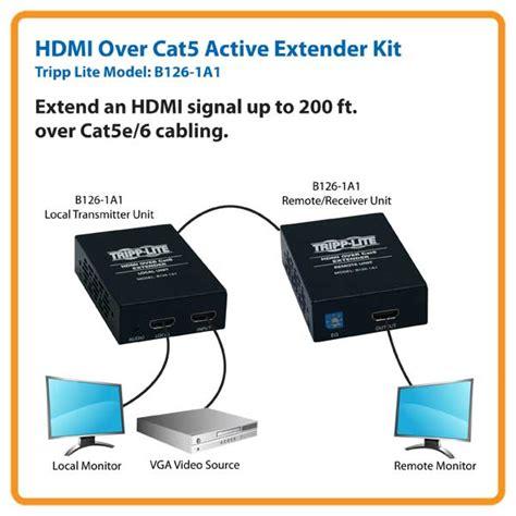 tripp lite hdmi cat5 cat6 extender