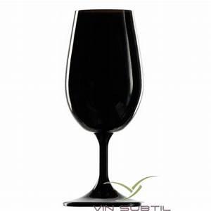 Verre A Vin Noir : verre a vin noir degustation ~ Teatrodelosmanantiales.com Idées de Décoration