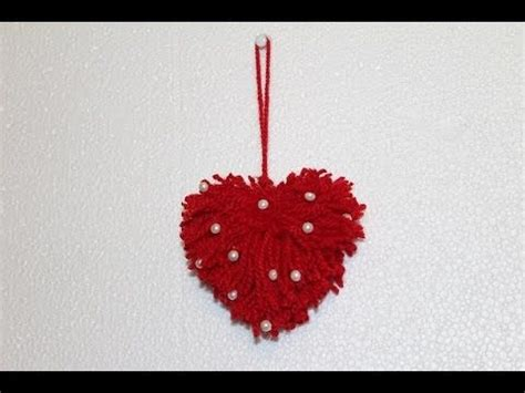 diy easy valentines day craft diy yarn heart