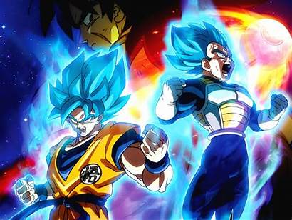 Dragon Ball Super Broly Fight