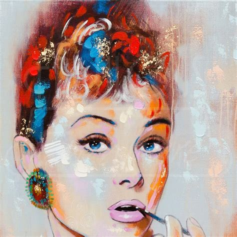 audrey hepburn canvas wall art  fabulous