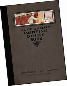 Details About Acme White Lead   Color Works 1916 Guide To