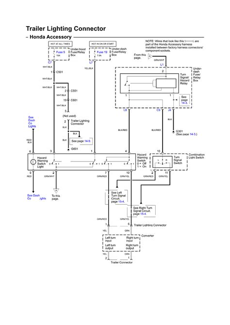 honda odessey trailer wiring diagram wiring diagram and