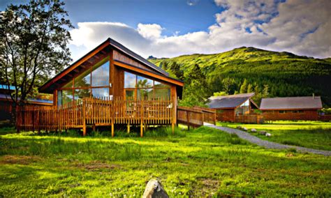 Forest Holidays Argyll A Great Place To Relax, Rain Or