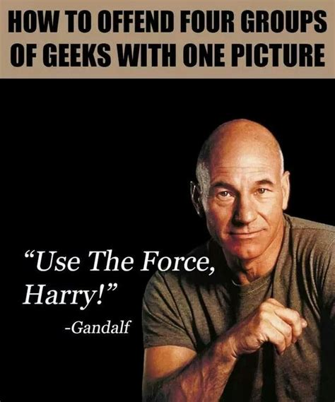 Use the force Harry!   Fun    Pinterest