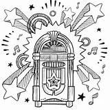 Coloring Jukebox Sheets Doodle Quote Mandala Retro Uploaded User Record Vinyl sketch template