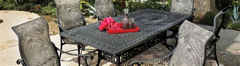 cast aluminum outdoor furniture ct new patio and