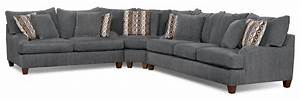 putty chenille sofa grey united furniture warehouse With grey chenille sectional sofa