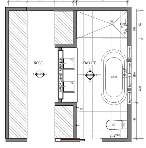 Square Bathroom Layout Ideas by Bedroom Robe And Ensuite Layout Huis In 2019