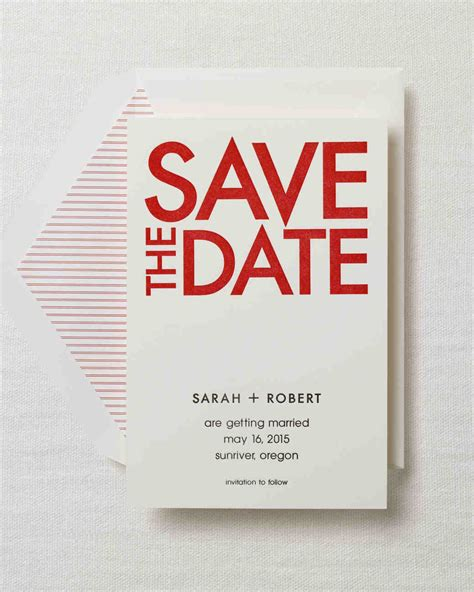 retro modern style modern save the dates for a contemporary celebration