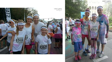 how much is the color run we had so much running the color run happy being