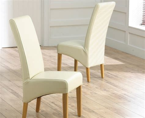 oak leather dining chairs buy harris roma oak dining chair bycast 3584