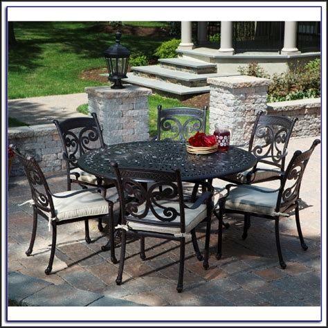 black cast aluminum patio dining sets patios home