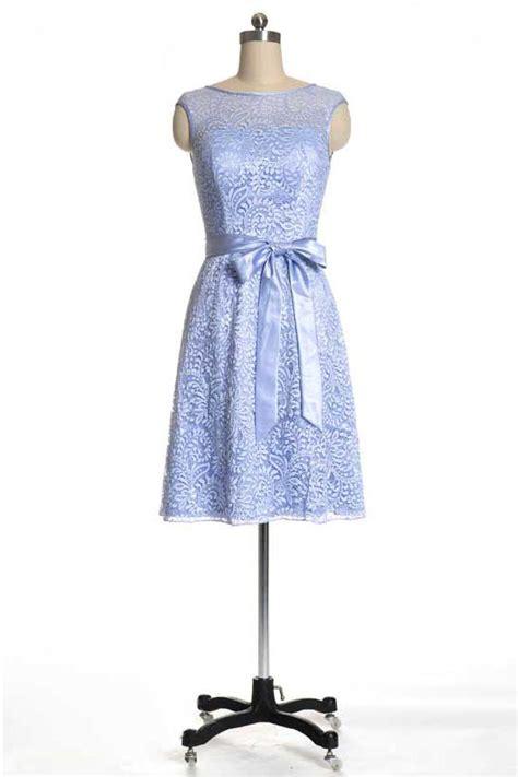 robe bleu pastel pour mariage robe de soir 233 e courte pour mariage en dentelle bleu pastel