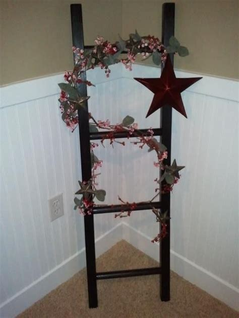 Decorative Ladder Decor Country Home