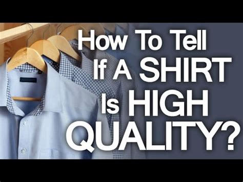 Buying High Quality Dress Shirt  5 Tips On How To Buy