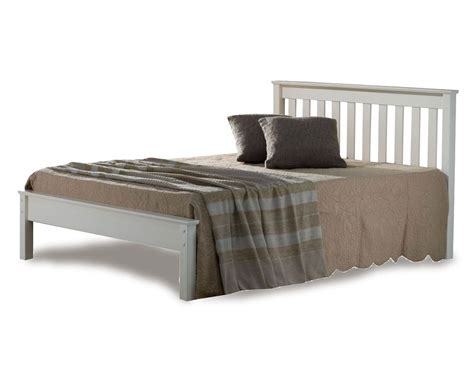 White Low Bed Frame by Denmark Low Foot White Bed Frame Bed