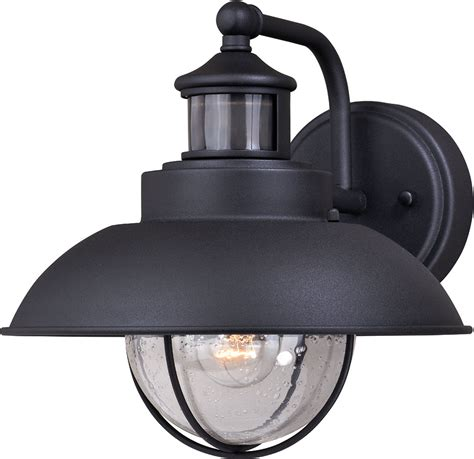 vaxcel  harwich dualux textured black outdoor motion