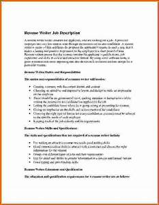 10 how to write job description on resume lease template With writing a job description template