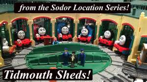 thomas and friends trackmaster sodor location tidmouth