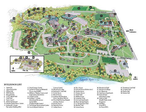 Clarkson University: Campus Map