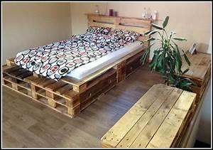 Bett Aus Paletten Selber Bauen Anleitung Betten House
