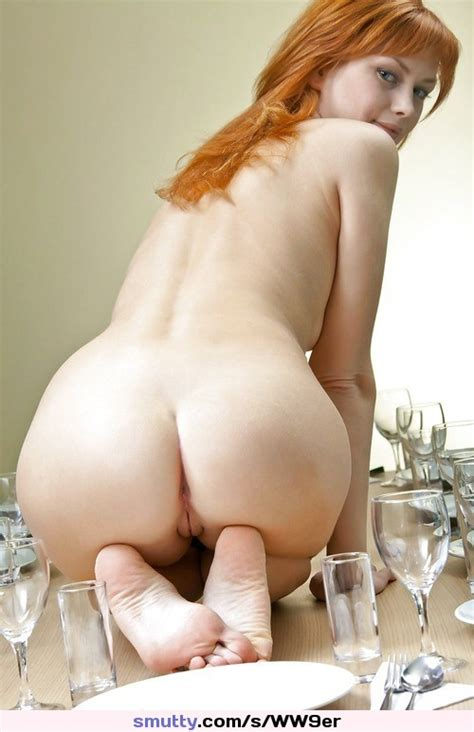Redhead Redhair Redhaired Ass Butt Bum Buttocks Feet Soles Feetandass Nude Naked