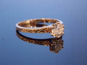 simple classic engagement rings reserved gold european cut six prong carved