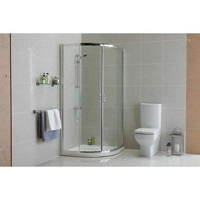 Complete Shower Enclosures - quadrant shower enclosure 900 x 900 complete with tray 163