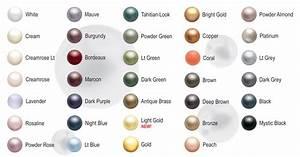 Swarovski Pearls Color Chart Swarovski 5810 Round Pearls Pewter Of Sweden