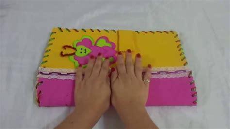 como hacer el paso a paso de las carpetas en foami like step of the folders in foami
