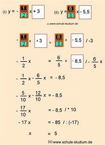 Funktionen Berechnen : lineare funktionen teil 4 berechnung des schnittpunktes zweier geraden ~ Themetempest.com Abrechnung