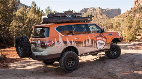 nissan armada  rugged  mountain patrol