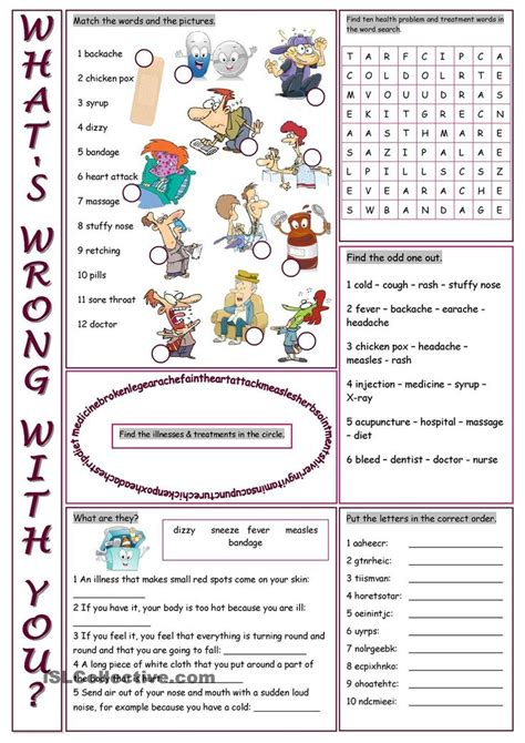 whats wrong   vocabulary exercises vocabulary