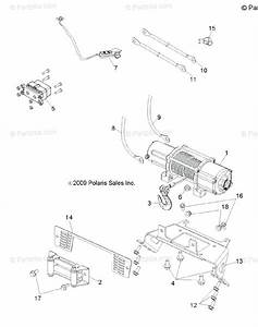 Polaris Side By Side 2010 Oem Parts Diagram For Options  Winch R10th76ab  Al