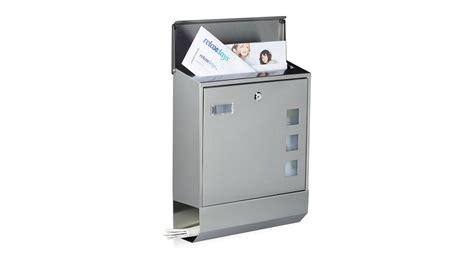 www briefkasten de briefkasten edelstahl zeitungsfach namensschild kaufen