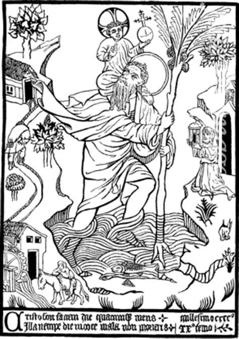 fine art images expertensuche heiliger christophorus