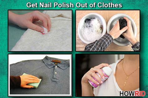How To Get Nail Polish Out Of Clothes?