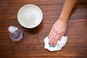 as seen on the today show common household cleaning myths With what do you clean hardwood floors with