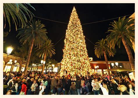 christmas light up in fashion island tree lighting at fashion island popsicle
