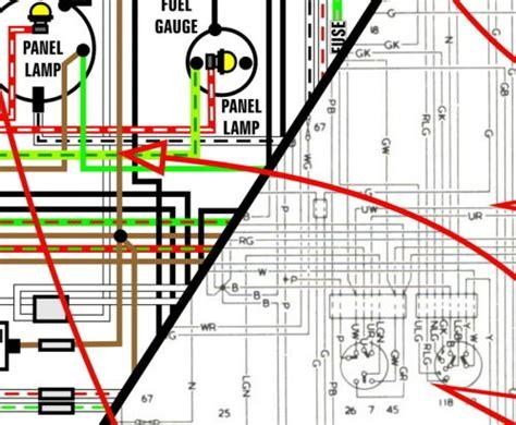 Jeep Color Wiring Diagram Ebay