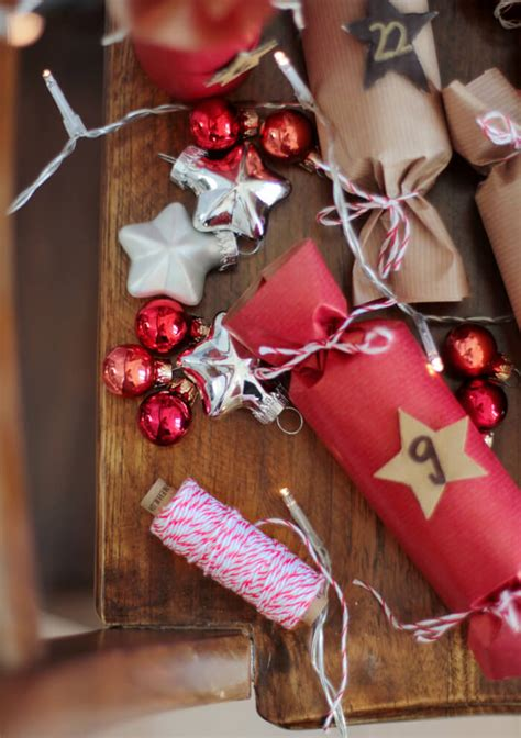 40 Ideen Für Die Adventskalenderfüllung Für 1 € Trytrytry