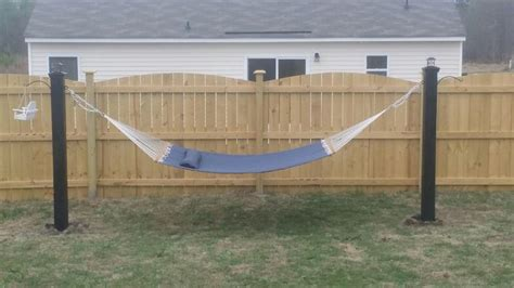 4x4 Hammock Stand by Diy Hammock Stand Keeping It Simple Diy Ideas And