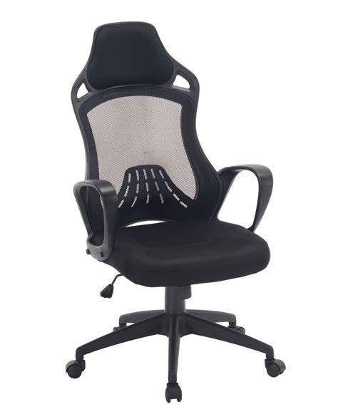 log chaise de bureau sport haut dossier kayelles