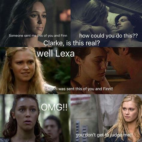 Top 100 Funniest Memes - 219 best the 100 memes images on pinterest otp the 100 clexa and bellarke