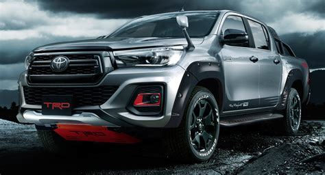 toyotas  hilux black rally edition  trd overload