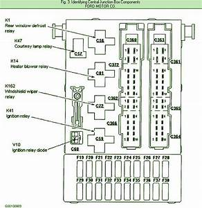 Rear Window Defrost  U2013 Circuit Wiring Diagrams