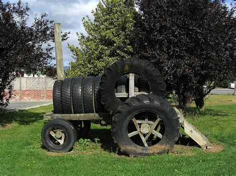 Made Of Old Tires On Pinterest